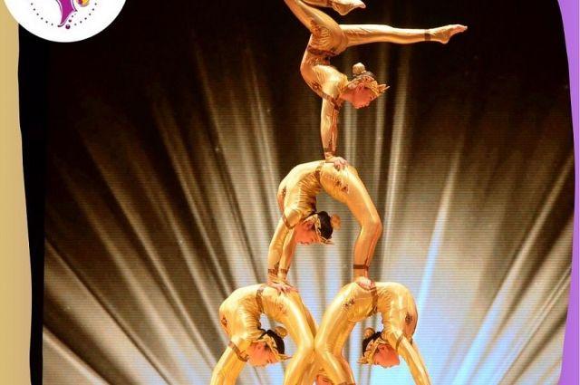 Номер «Богини Байкала» завоевал «золото» циркового турнира.