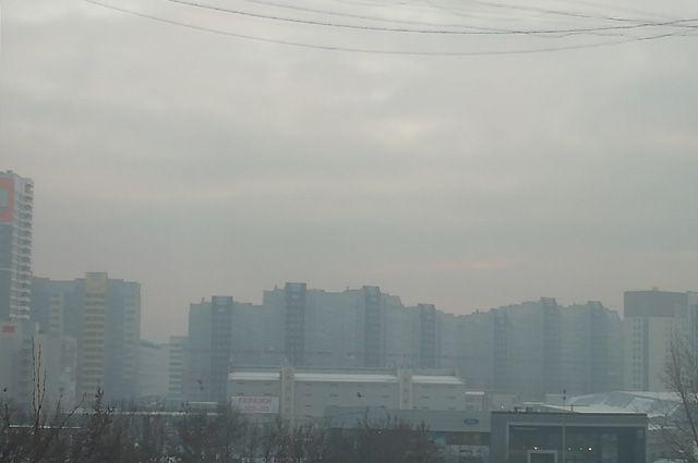 Туман установился в Барнауле 30 ноября