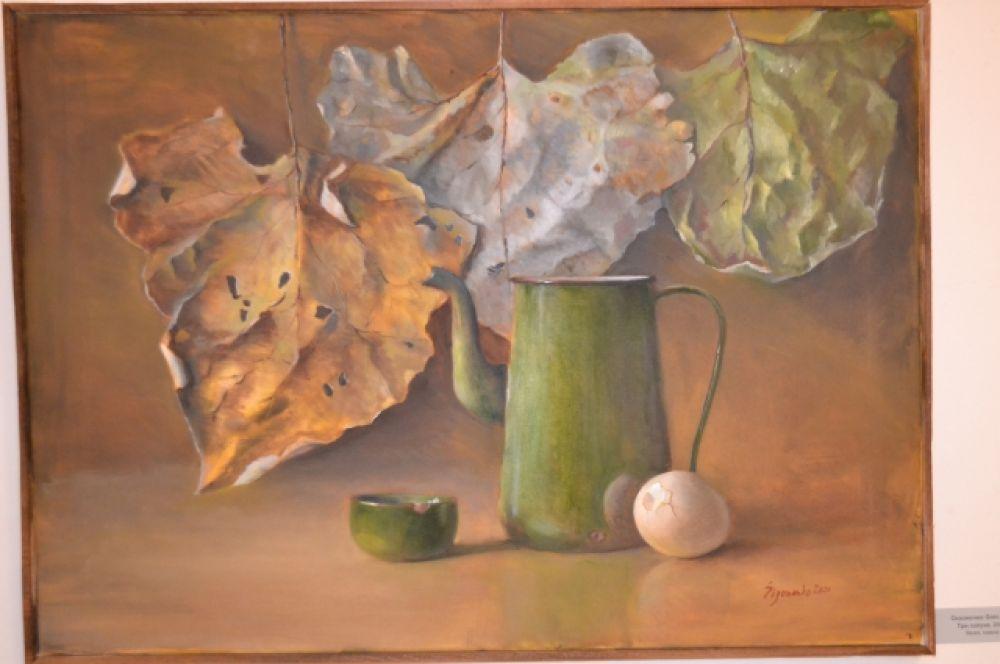 Работа художника из Ухты Олега Сизоненко «Три лопуха».