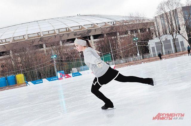 Сезон пируэтов на льду открыт.