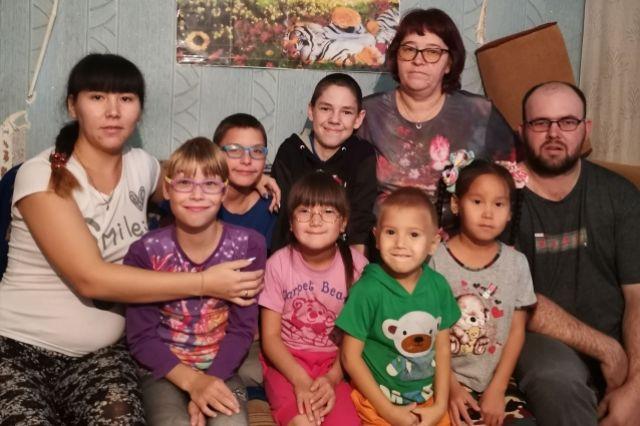Виктория с детьми