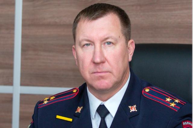 Глава МВД республики  представил личному составу своего заместителя.