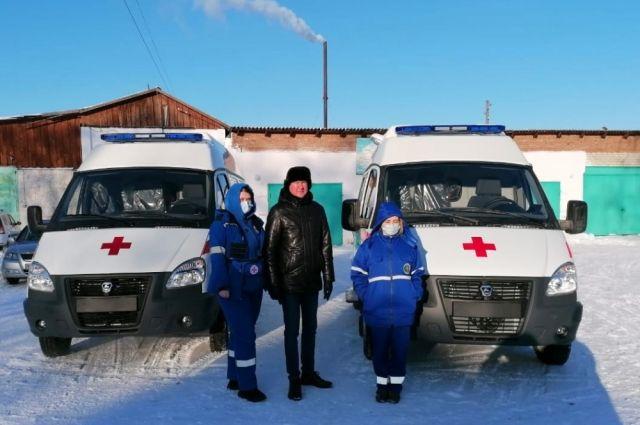 В Казанском районе обновили автопарк скорой помощи