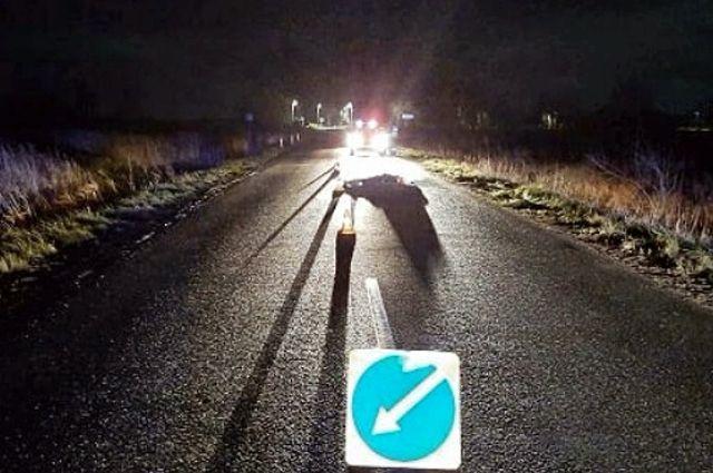 Сотрудники ГИБДД  разыскивают водителя, сбившего насмерть пешехода