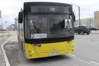 В Салехарде изменено время отправления автобуса № 2