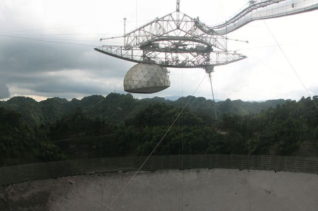 В Пуэрто-Рико разрушился радиотелескоп «Аресибо»
