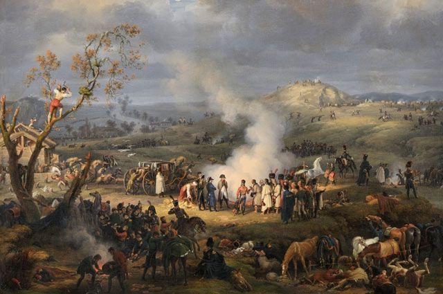 Битва под Аустерлицем. Луи-Франсуа Лежён.