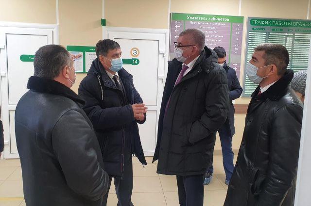 1 декабря депутат Госдумы России Игорь Сапко побывал в Бардымском округе и проверил на месте, как реализуются нацпроекты.