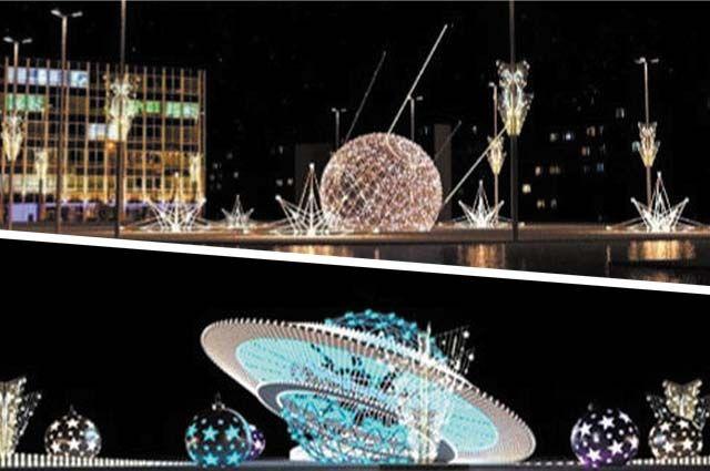 На площади Карла Маркса появится композиция «Спутник», а на шоссе Космонавтов – «Летающая тарелка».
