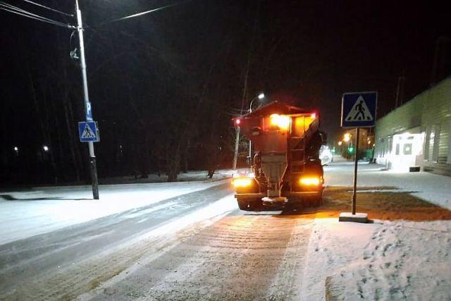С начала зимнего сезона с улиц Новосибирска вывезено более 147 тысяч кубометров снега