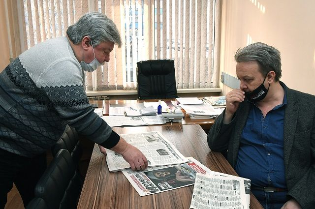 Виктор Кияница (слева) и Иван Резванцев – послесловие к фильму.