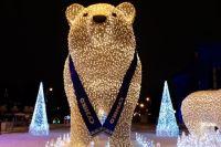 К Новому году в центр Тюмени вернутся белые медведи