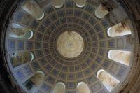 Купол Петропавловского храма в селе Переслегино Торжокского района