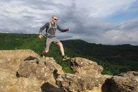 Никита Пешков считает, что на КМВ идеальный рельеф для скалолазания