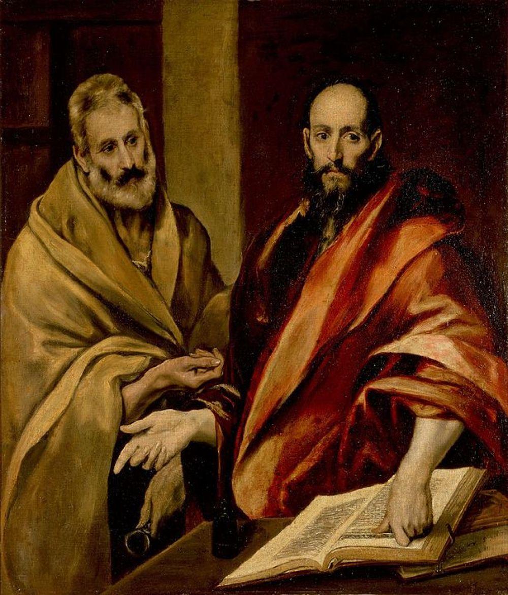 Эль Греко. Апостолы Пётр и Павел. 1587-1592