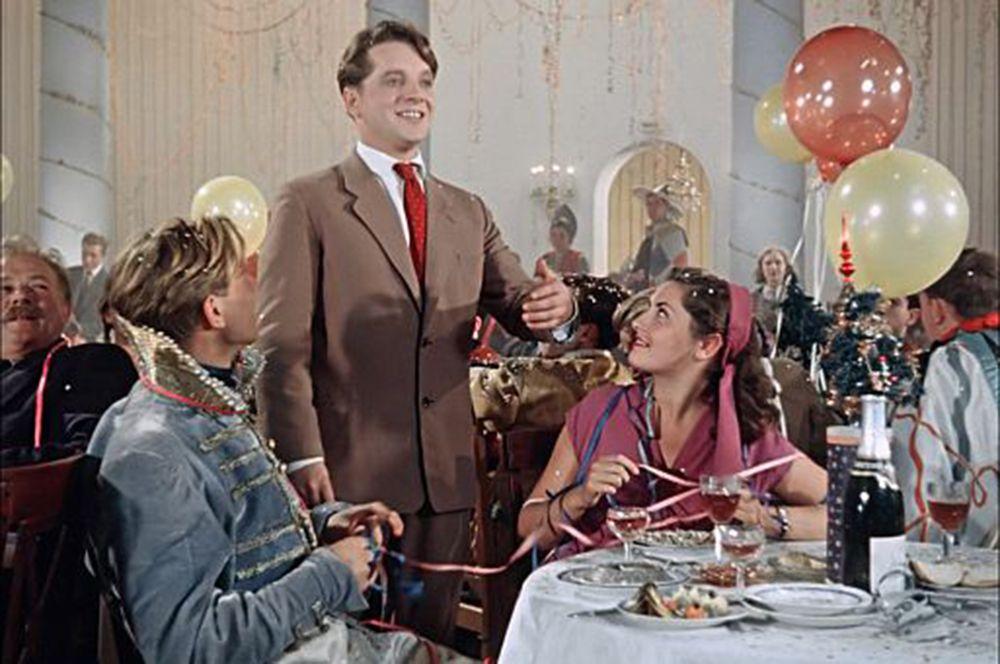 «Карнавальная ночь», 1956 год.