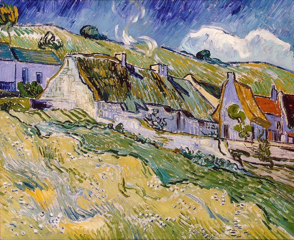 Винсент ван Гог. Хижины. 1890 год