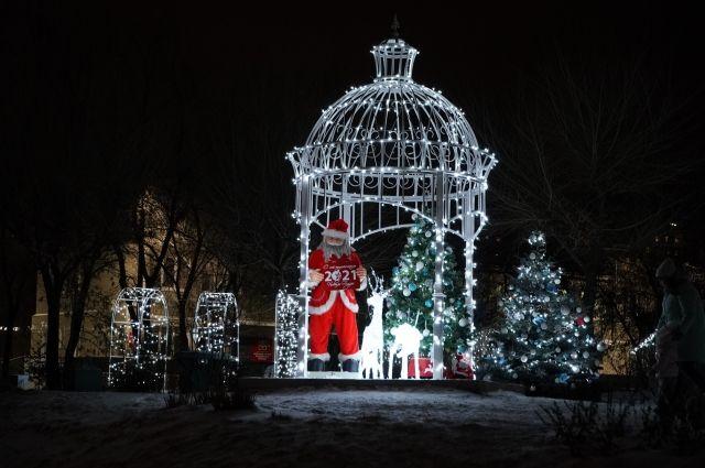 Сказочный новогодний мир, созданный коллективом ФМБА, прекрасный подарок жителям и гостям Красноярска.
