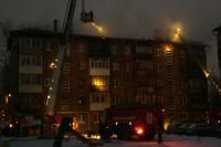 Площадь пожара составила 400 квадратных метра.