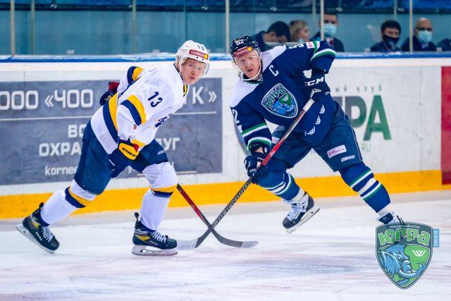 Хоккеисты «Югры» возглавили ВХЛ