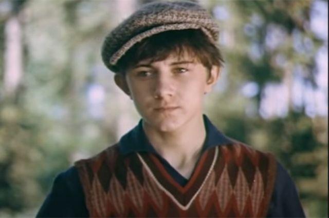 Вячеслав Баранов в роли Мишки Квакина в фильме «Тимур и его команда». 1976 год.