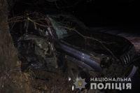 Под Харьковом женщина на джипе врезалась в дерево: четверо травмированных