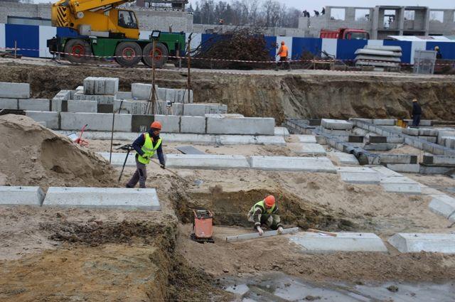 На ул. Мариенко в Калининграде начали строить детский сад