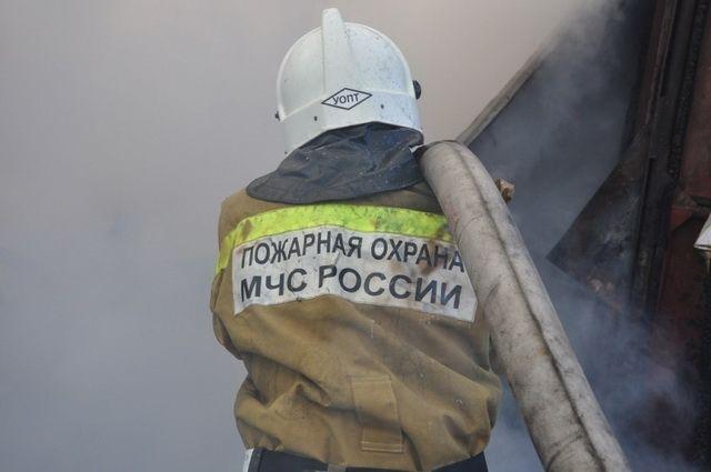 В Петропавловске загорелся частный дом