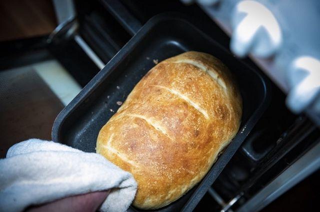 Хлеб у мастера получается особенно вкусным!