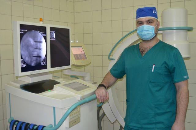 Новое оборудование и новый опытный специалист позволили внедрить в больнице  Первоуральска современную технологию.