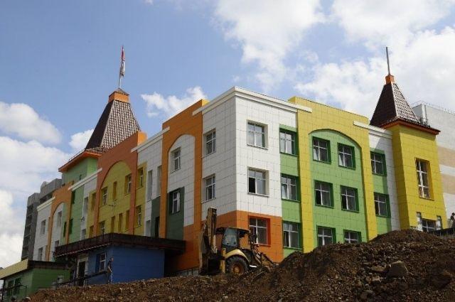 Детский сад в Кемерово-Сити открыли всего шесть дней назад.