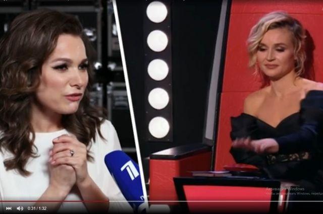 Красноярская певица могла покинуть проект, но её спасла Полина Гагарина.