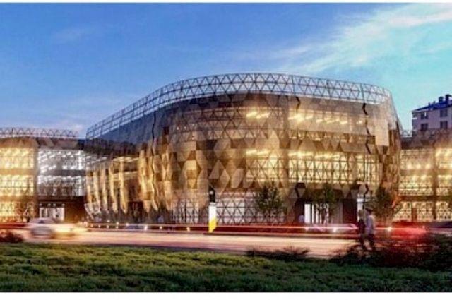 Глава Ноябрьска показал эскиз проекта новой школы в 8 микрорайоне
