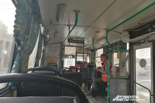 Износ троллейбусного парка в Оренбурге составляет 95%.