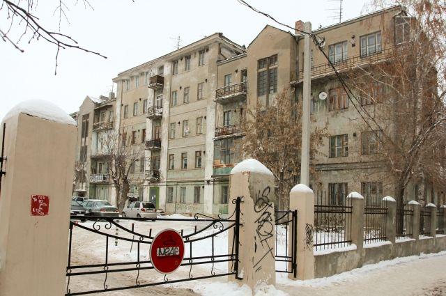 В историческом центре Казани хрущевки соседствуют со сталинским ампиром.