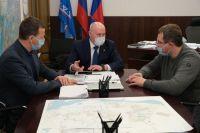 Ход строительства полигона ТБО в Тазовском районе обсудили на Ямале