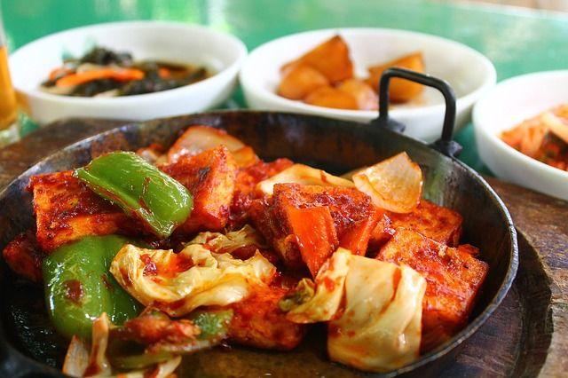 В пост можно приготовить различные блюда из овощей.