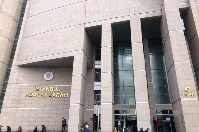 Дворец правосудия Чаглаян в Стамбуле, куда доставили журналистов российского телеканала НТВ в пятницу, 4 декабря.