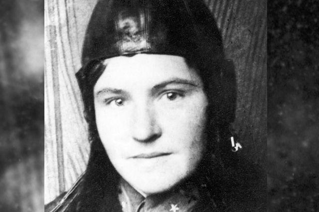 Советская летчица Варвара Ляшенко. Фотография 1940 года.