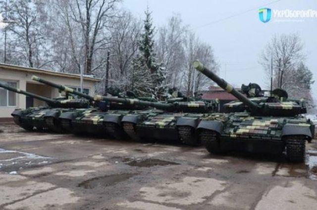 ВСУ получили модернизированные танки Т-64.