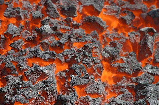 На Коксохимичеком заводе в Кемерове производят металлургический кокс.
