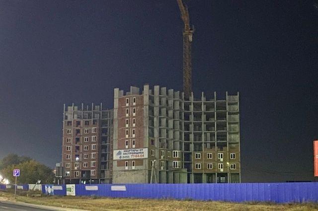 За 2020 год количество проблемных строек увеличилось на 8, в 2021 году к ним могут прибавиться еще не менее пяти