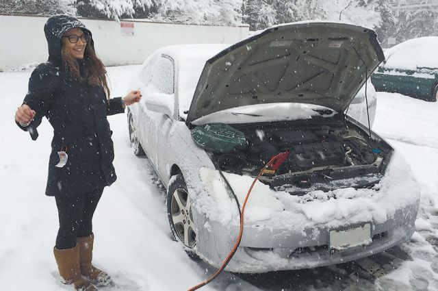 В условиях суровых сибирских холодов двигатель нуждается в автоодеяле.