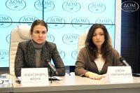 Режиссер Александра Франк и актриса Алена Хмельницкая основали движение «Звезда на ладошке».