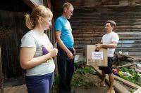 Одежда, собранная в боксах «Вещь добра» минувшим летом, пригодилась жителям Нижних Серёг, пострадавшим от наводнения.