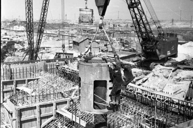 Возводя ГЭС, применяли новые строительные технологии.