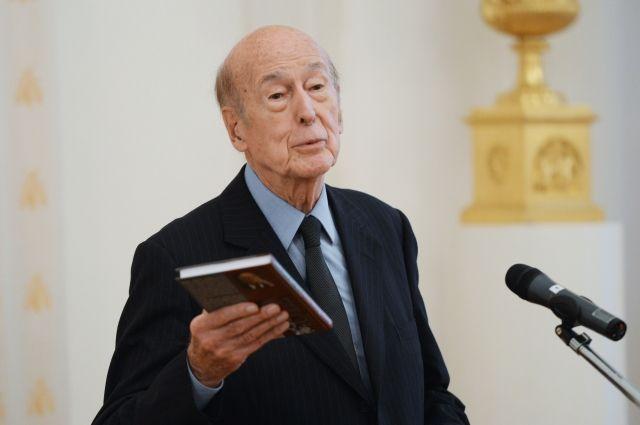 Бывший президент Франции Жискар Д'Эстен