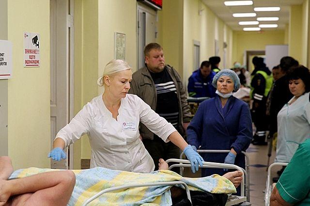 В больнице ситуация такая, что туда лучше вообще не попадать.