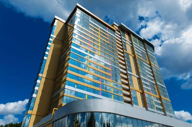 Апартаменты с сервисной функцией «Огни Екатеринбурга» компании «Атомстройкомплекс» в Екатеринбурге.