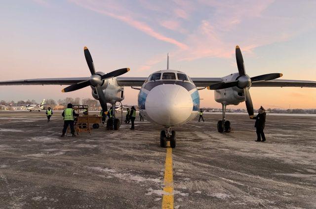 Ан–24 будет выполнять рейсы из Сыктывкара в Воркуту, Усинск и Усть–Цильму.